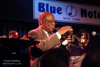 Clark Terry at the Blue Note